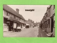 The Street Charing Nr Ashford Motorcycle Shop unused RP pc Wells Series Ref A818