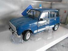 Renault 4 l 4l turbo Police policía gendarmería S-precio solido 1:18