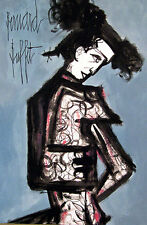 Bernard Buffet signed artwork, original drawing, PAINTING, art, signed Matador