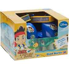 Disney Jake Indoor & Outdoor QUAD ROLLER SKATES Junior Childrens Pirates toy