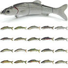 wLure 6 1/2 inch, 1 1/3 oz, 5 Segments Swimbait Fishing Lure Crankbait HS5