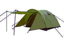 Gazelle Outdoor Sports Camping Hiking Double Layer Family Tent Army Green