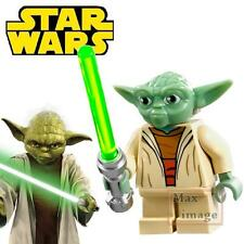 1pc Master Yoda Minifigure Building Blocks Toy Star Wars Custom Lego #023