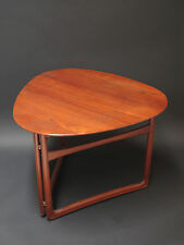 RARE PETER HVIDT Teak Folding Coffee Side Table France Daverkosen DENMARK