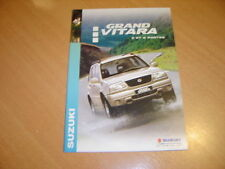 CATALOGUE Suzuki Grand Vitara3 & 5 portes de 2003