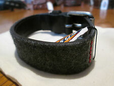 New Fossil Leather Fabric Bracelet + fossil cloth bag, ML8015001 - Aspen Cuff