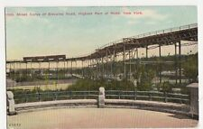 USA, 110th Street Curve of Elevated Road, New York Postcard, B120