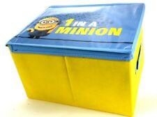 Oficial Nuevo Despicable Me Minion Caja de almacenamiento de Toy Box Childrens bedroom Regalo
