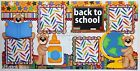 CraftEcafe Premade Scrapbook Pages Paper Piecing School Tear Bear BLJgraves 33