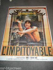SHAOLIN WOODEN MEN - ORIGINAL LARGE FRENCH POSTER - JACKIE CHAN - 1976