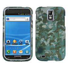 T-MOBILE SAMSUNG GALAXY S II 2 T989 GRAPHIC HARD SHELL CASE DIGITAL CAMO GREEN