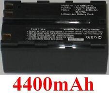 Batterie 4400mAh type 724117 733269 GEB221 Pour Leica TCRP1203