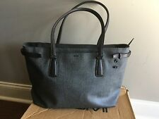 Tumi Sinclair Collection Viera Business Tote 79386 Earl Grey Travel Carry On Bag