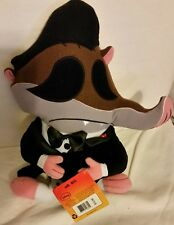 Disney Zootopia Mr. Big 15 inch Stuffed Plush Pillow Doll Toy Shrew Flat NEW NWT