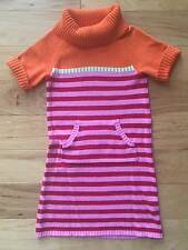 EUC GIRL GYMBOREE COZY CUTIE AUTUMN FALL STRIPED SWEATER PLAY DAY DRESS OUTFIT 7