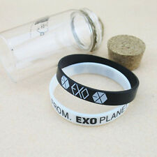 EXO-K FROM EXO PLANET KPOP Supporter Wristband Bracelet X 2PCS NEW HOT