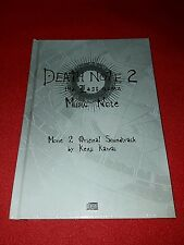 "Coffret CD Death Note 2 "" the Last name "" Music Note"