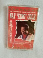 NAT KING COLE...THE CHRISTMAS SONG Cassette NEW SEALED