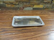 Aluminum Cheese and Cracker Serving Tray