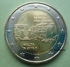 Malta 2 Euro Gedenkmünze 2016 Ggantija Tempel commemorative coin Münzzeichen MdP
