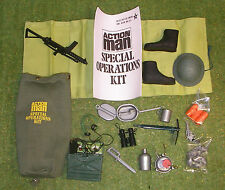 VINTAGE ACTION MAN 40th SPECIAL OPERATIONS KIT BAG