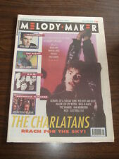 MELODY MAKER 1990 OCTOBER 13 CHARLATANS MORRISSEY PIXIES REM HOTHOUSE FLOWERS