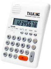 Talking Pocket-Sized Calculator for the Blind