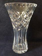 Vase cristal taillé école anglaise à identifier belle qualité