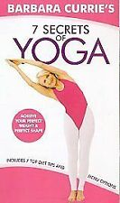 Barbara Currie - Seven Secrets of Yoga [VHS], Good VHS, ,