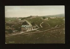 Gloucestershire Glos CLEEVE HILL General View c1900/10s? tinted RP PPC