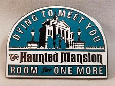 Disney Pin Disneyland Mickeys Pin Odyssey 2008 Decals Collection Haunted Mansion