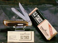 Schrade 94OT Trapper's Knife Old Timer Circa-1980's USA Made & Packaging,Papers