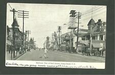 Pre 1910 Used Postcard Birds Eye View Of Surf Avenue Coney Island Brooklyn N.Y.