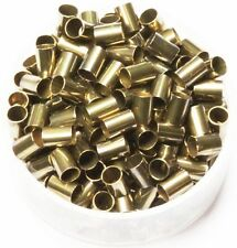 Vintage Brass Tube Spacer Beads Hole Size 3 Mm, Length 5 Mm,Pkg. Of 100, Brass
