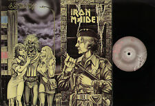 """12"""" IRON MAIDEN WOMEN IN UNIFORM +2 MADE IN FRANCE WITH ITALIAN IMPORT STICKER"""