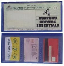 Ashtons DVLA Paper Driving Licence Card Wallet Holder D740 Photo Card