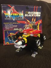 VOLTRON Battling Black Lion G1 1984 Motorized Action in Original Box Lights No M