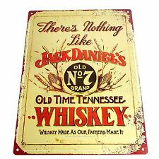 Retro JACK DANIELS WALL SIGN Man Cave Home Bar Decor Man Cave Den Fathers Day