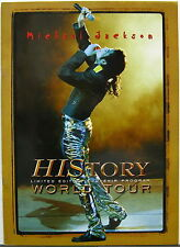MICHAEL JACKSON HIStory World Tour Program FRENCH Limited Edition 5000 Copies