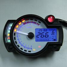 Tacómetro Pantalla Digital LCD Medidor de Velocidad RPM Universal para Motos