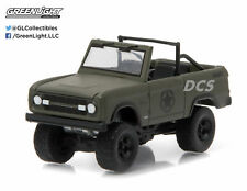 GREENLIGHT 1977 FORD BRONCO 1/64 MILITARY TRIBUTE SARGE 77 HOBBY EXCLUSIVE 29842