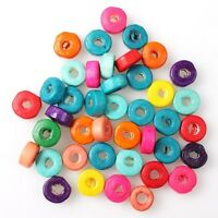 1000pcs 112639 Wholesale Round Mixed Wooden Spacer Beads Charms Fit Jewelry DIY