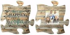 P Graham Dunn THIS IS OUR Wedding Photo Frame Inspirational Puzzle Wall Art Set