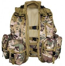 Tactical Assault Vest HMTC NEW One Size Cadet Paintball Airsoft Highlander