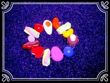 **~ Sweeties Bracelet ~ handmade retro fimo bead cute ~**