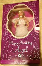 Barbie Happy Birthday Angel Pink Label Doll NEW factory sealed