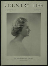 Marigold Elizabeth Schofield Low Burton Hall Masham 1958 1 Page Photo Article