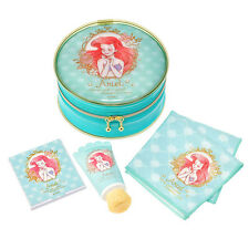 Japan Disney Store Little Mermaid Ariel Pouch Gift Set with hand cream