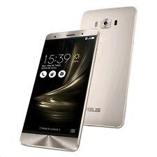 "ASUS ZenFone 3 Deluxe Dual Sim Silver 64GB 5.7"" 6GB RAM Unlocked ZS570KL 4G LTE"
