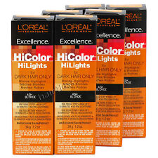 (Pack of 6) Loreal Excellence Hicolor Hilights Creme Permanent Color ASH BLONDE